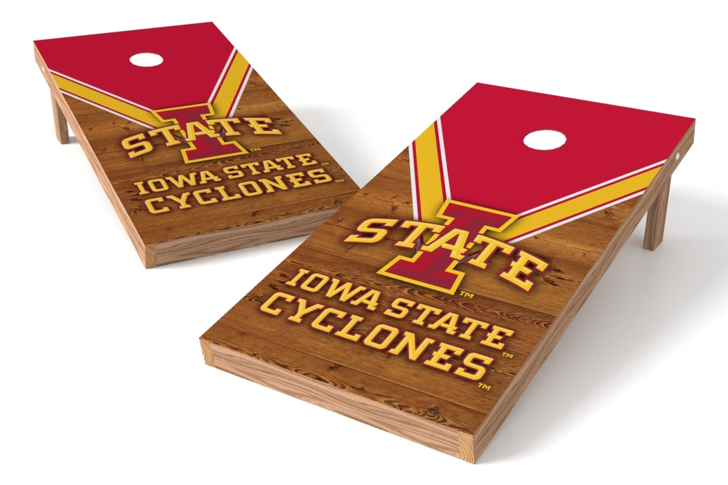 Iowa State Cyclones 2x4 Cornhole Board Set - Uniform
