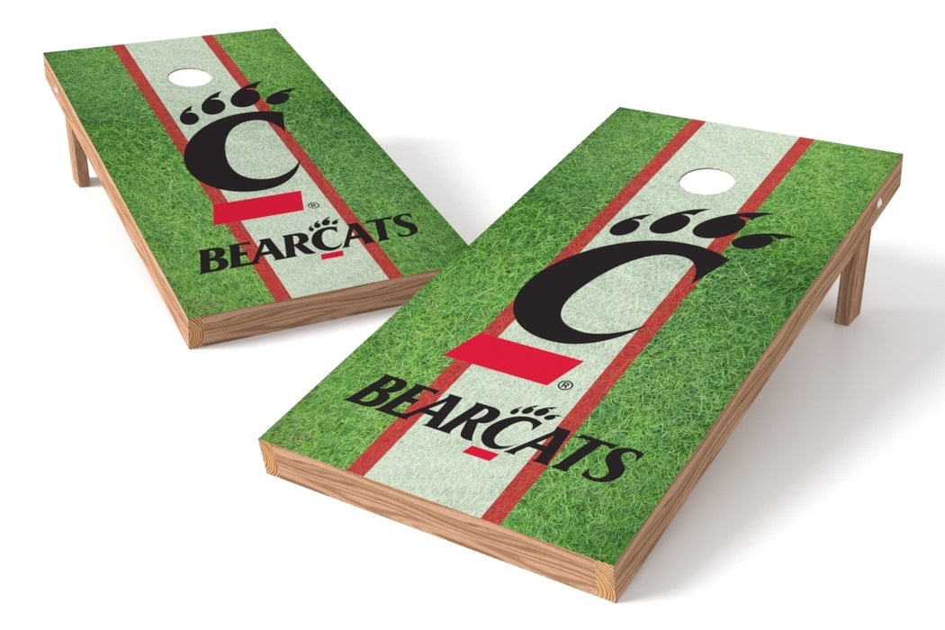 Cincinnati Bearcats 2x4 Cornhole Board Set - Field