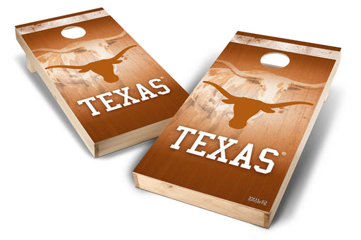 Texas Longhorns 2x4 Cornhole Board Set - Wild