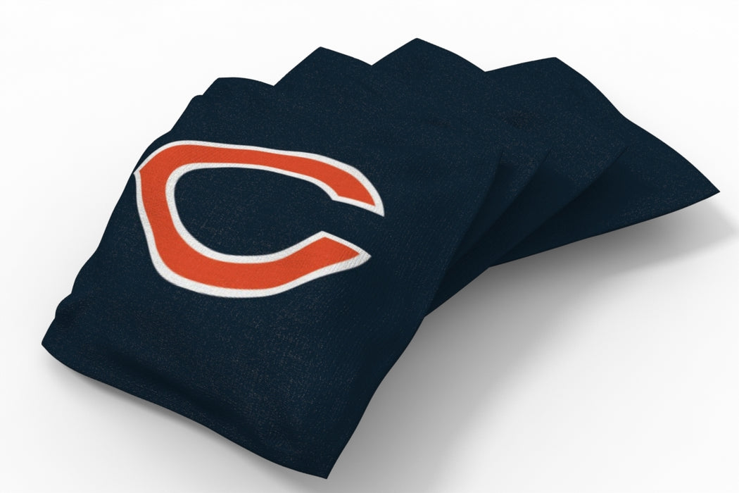 Chicago Bears  Solid Bean Bags - 4pk