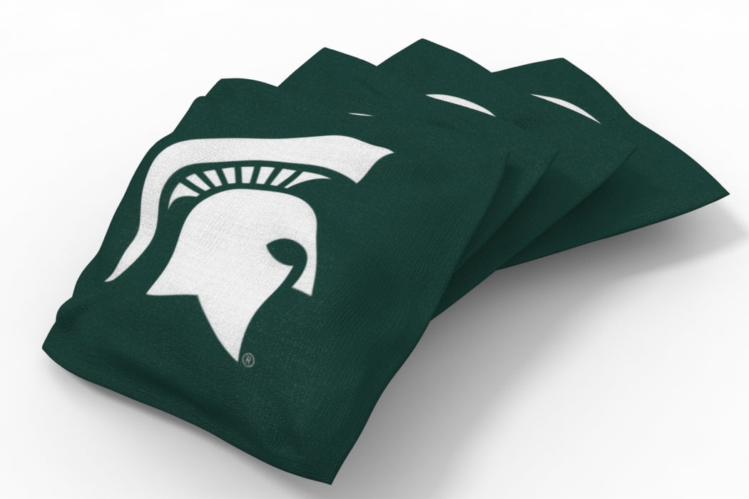Michigan State Spartans 2x4 Cornhole Board Set Onyx Stained - Hot