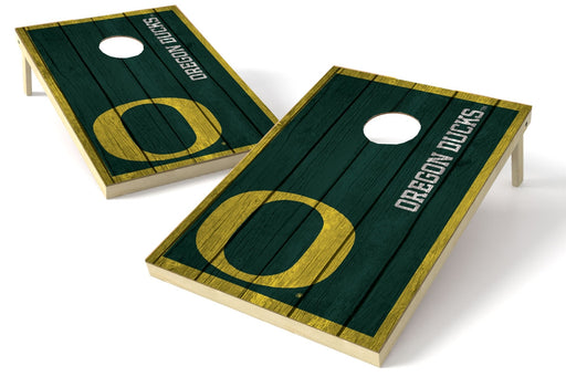 Oregon Ducks 2x3 Cornhole Board Set - Vintage