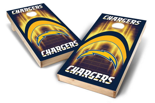 Los Angeles Chargers 2x4 Cornhole Board Set - Arch
