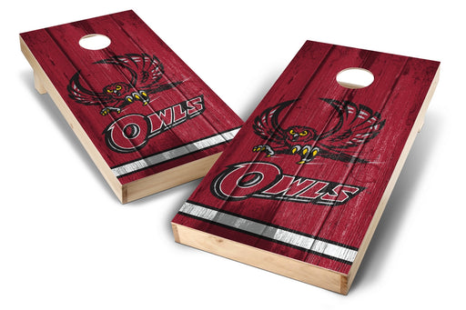 Temple Owls 2x4 Cornhole Board Set - Vintage