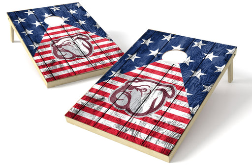Mississippi State 2x3 Cornhole Board Set - American Flag
