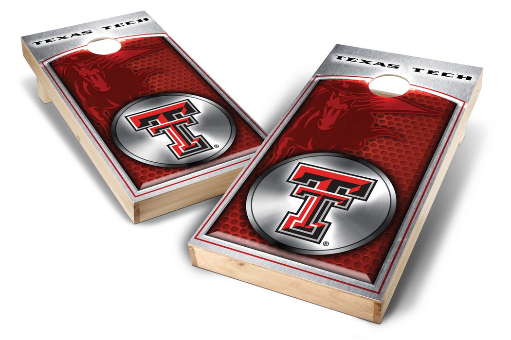 Texas Tech Red Raiders 2x4 Cornhole Board Set - Medallion