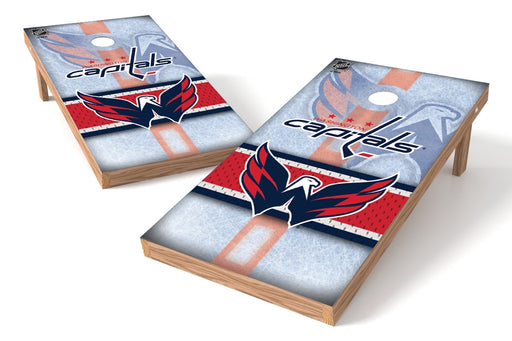 Washington Capitals 2x4 Cornhole Board Set - Rink