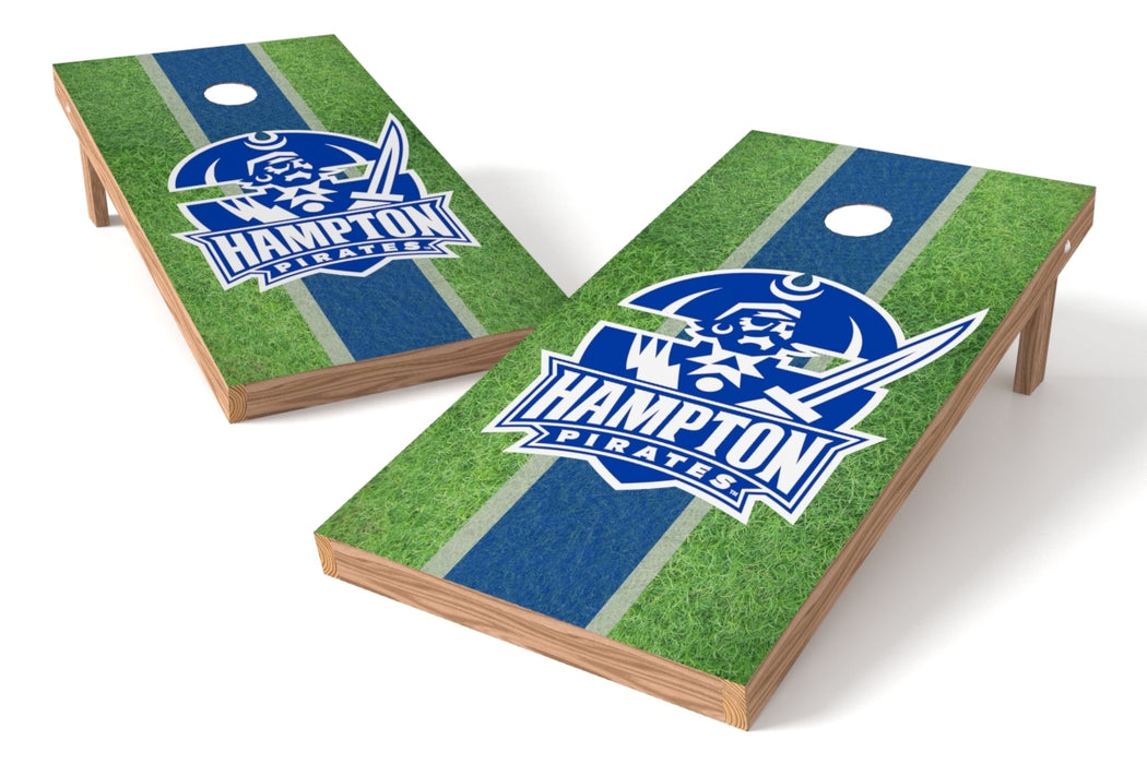 Hampton U 2x4 Cornhole Board Set - Field