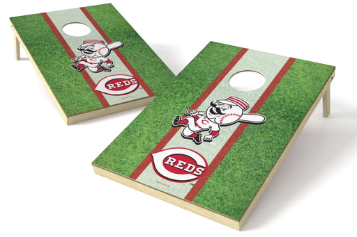 Cincinnati Reds 2x3 Cornhole Board Set - Field