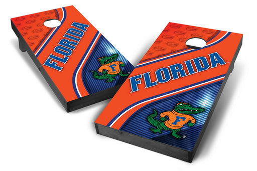 Florida Gators 2x4 Cornhole Board Set Onyx Stained - Swirl