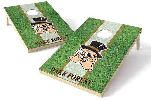 Wake Forest Deacons 2x3 Cornhole Board Set - Field