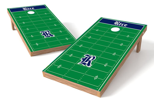 Rice University Owls 2x4 Cornhole Board Set - Field