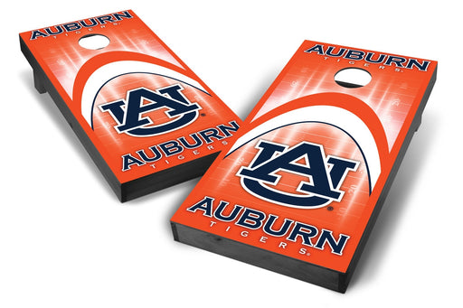 Auburn Tigers 2x4 Cornhole Board Set Onyx Stained - Arch