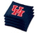 Houston Cougars 2x4 Cornhole Board Set - Weathered