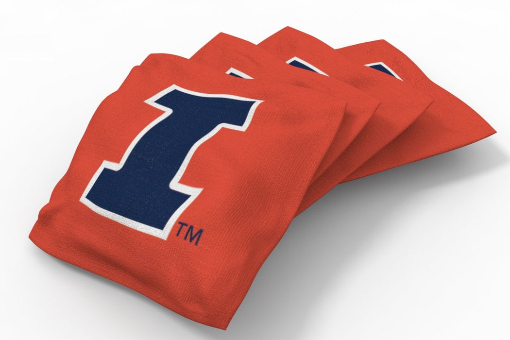 Illinois Fightin Illini 2x3 Cornhole Board Set - Hardwood