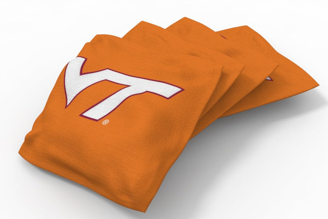 Virginia Tech Hokies 2x4 Cornhole Board Set - Weathered