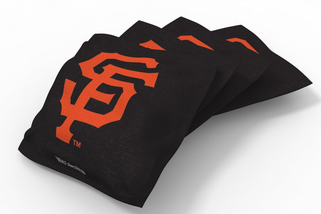 San Francisco Giants 2x4 Cornhole Board Set - Logo