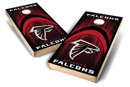 Atlanta Falcons 2x4 Cornhole Board Set - Arch