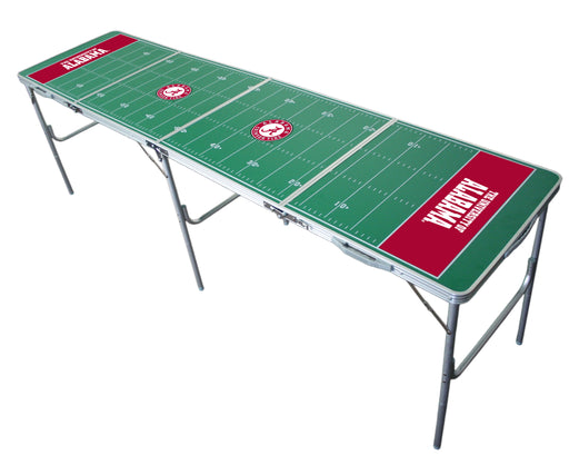 Alabama Crimson Tide NCAA 2' x 8' Travel Tailgate Table