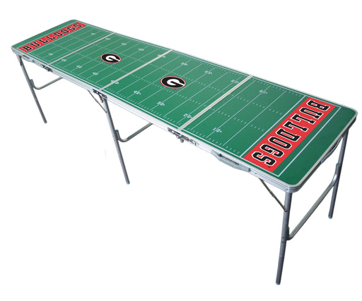 Georgia Bulldogs NCAA 2' x 8' Travel Tailgate Table