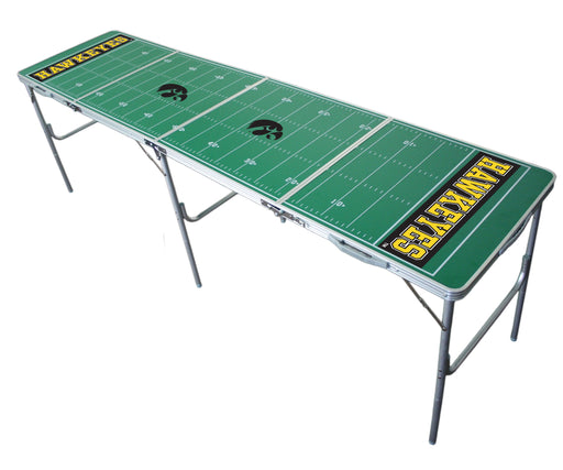 Iowa Hawkeyes NCAA 2' x 8' Travel Tailgate Table