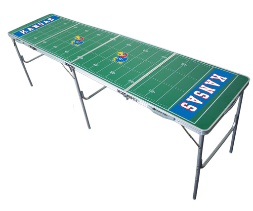 Kansas Jayhawks NCAA 2' x 8' Travel Tailgate Table