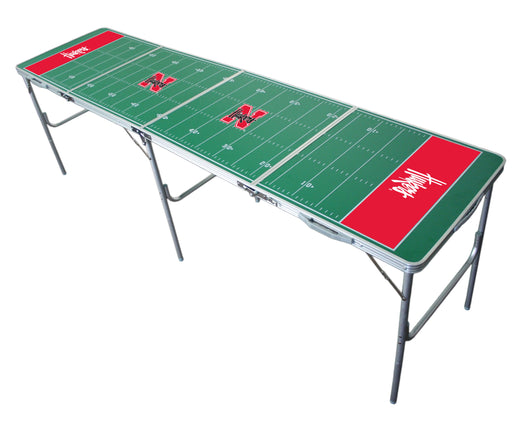 Nebraska Cornhuskers NCAA 2' x 8' Travel Tailgate Table