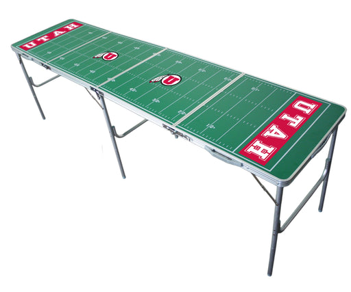 Utah Utes NCAA 2' x 8' Travel Tailgate Table