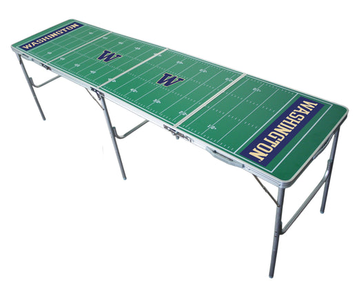 Washington Huskies NCAA 2' x 8' Travel Tailgate Table