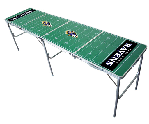 Baltimore Ravens NFL 2' x 8' Travel Tailgate Table