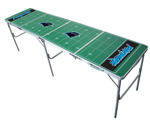 Carolina Panthers NFL 2' x 8' Travel Tailgate Table