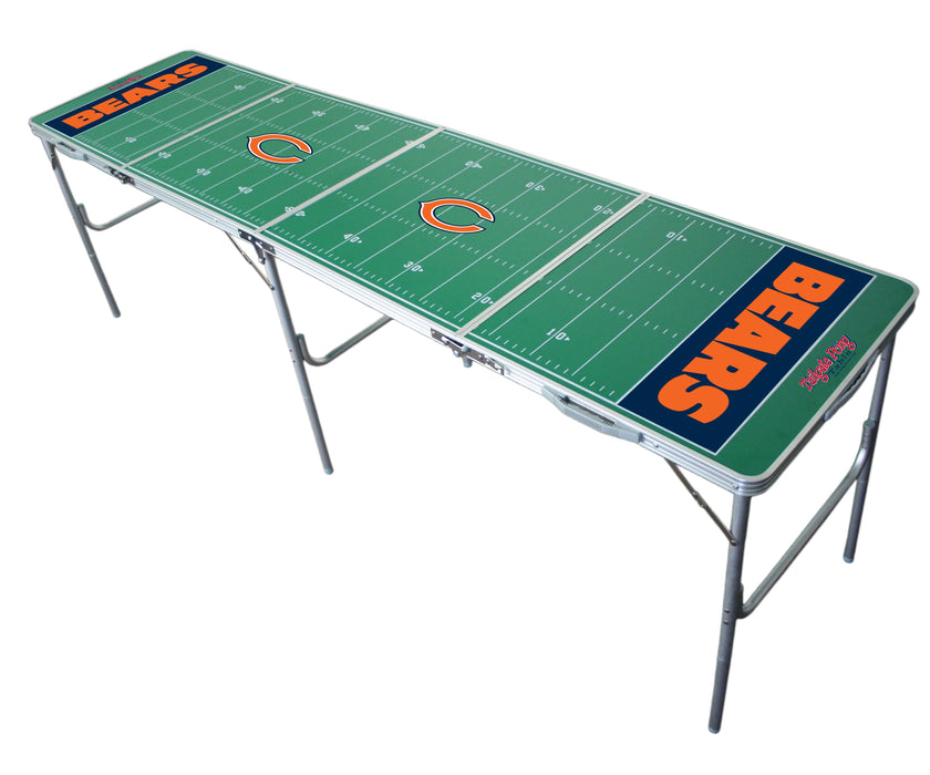 Chicago Bears NFL 2' x 8' Travel Tailgate Table