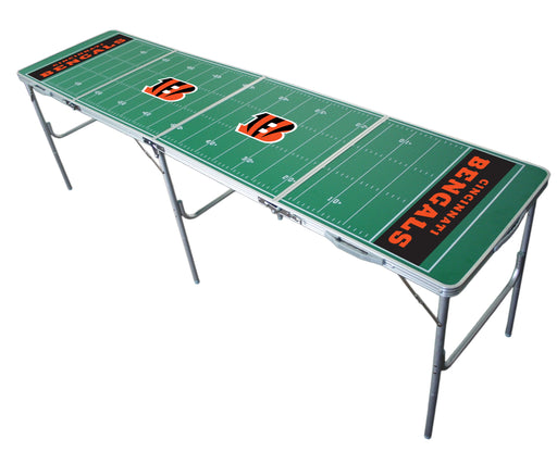 Cincinnati Bengals NFL 2' x 8' Travel Tailgate Table