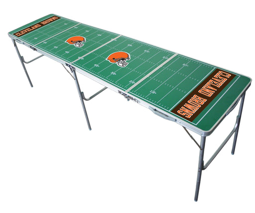 Cleveland Browns NFL 2' x 8' Travel Tailgate Table