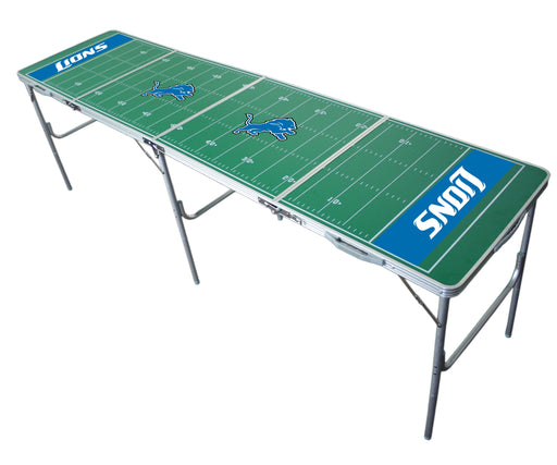 Detroit Lions NFL 2' x 8' Travel Tailgate Table