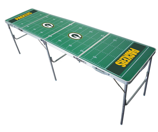 Green Bay Packers NFL 2' x 8' Travel Tailgate Table