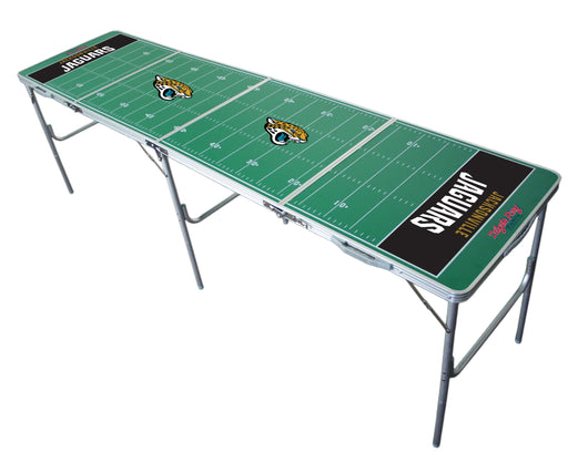 Jacksonville Jaguars NFL 2' x 8' Travel Tailgate Table