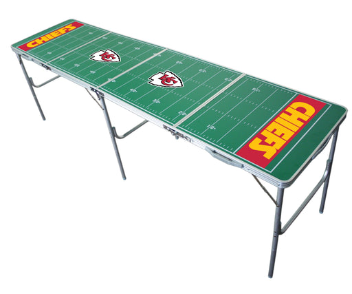 Kansas City Chiefs NFL 2' x 8' Travel Tailgate Table