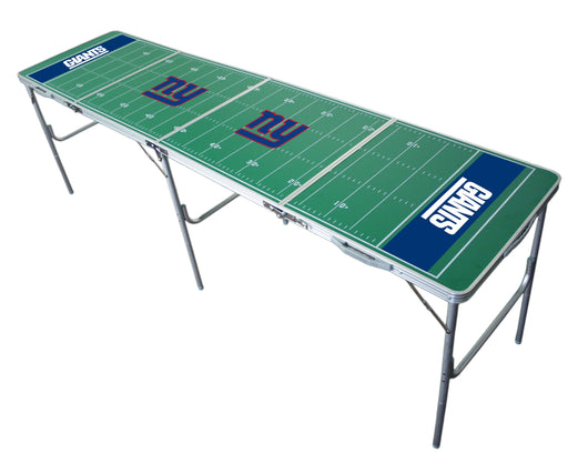 NY Giants NFL 2' x 8' Travel Tailgate Table