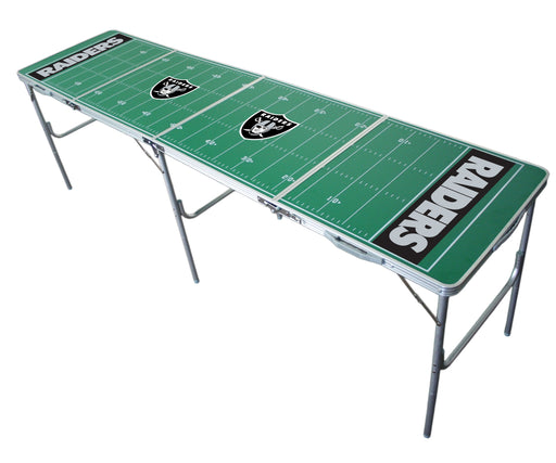 Oakland Raiders NFL 2' x 8' Travel Tailgate Table