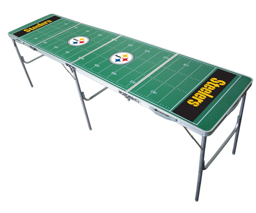 Pittsburgh Steelers NFL 2' x 8' Travel Tailgate Table