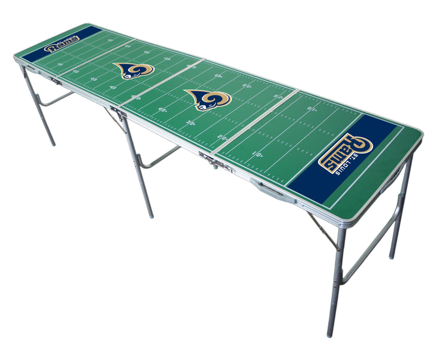 Los Angeles Rams NFL 2' x 8' Travel Tailgate Table