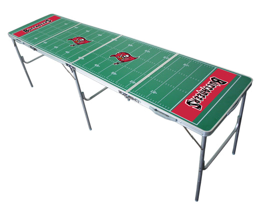 Tampa Bay Buccaneers NFL 2' x 8' Travel Tailgate Table