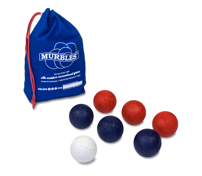 Murbles Standard 7 Ball Travel Bocce Ball Game