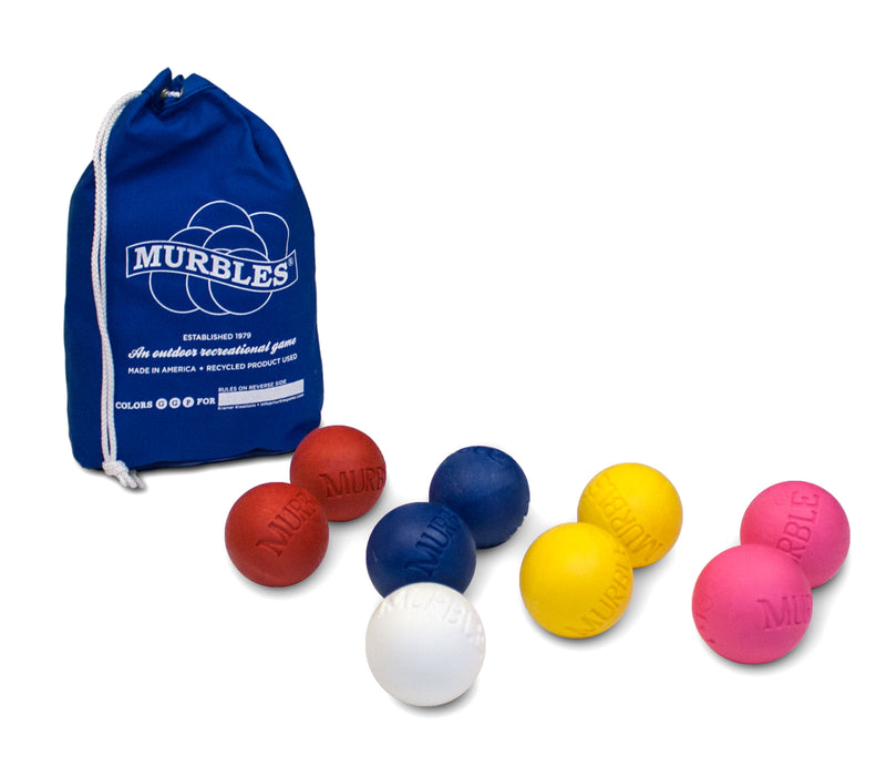Murbles Standard 9 Ball Travel Bocce Ball Game