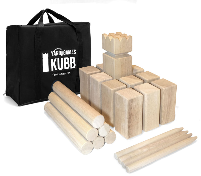 Kubb Game Regulation Set