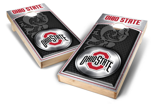 Ohio State Buckeyes 2x4 Cornhole Board Set - Medallion