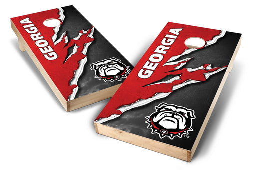 Georgia Bulldogs 2x4 Cornhole Board Set - Ripped