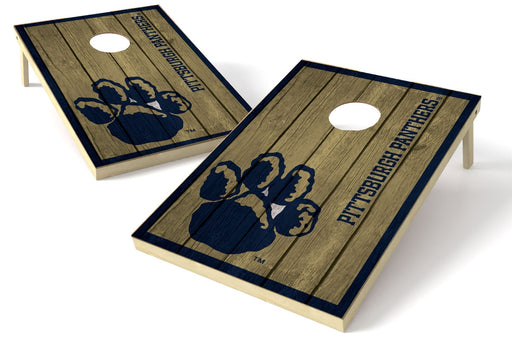 Pittsburgh Panthers 2x3 Cornhole Board Set - Vintage