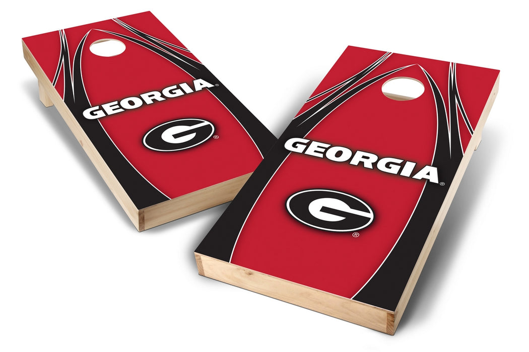 Georgia Bulldogs 2x4 Cornhole Board Set - Edge